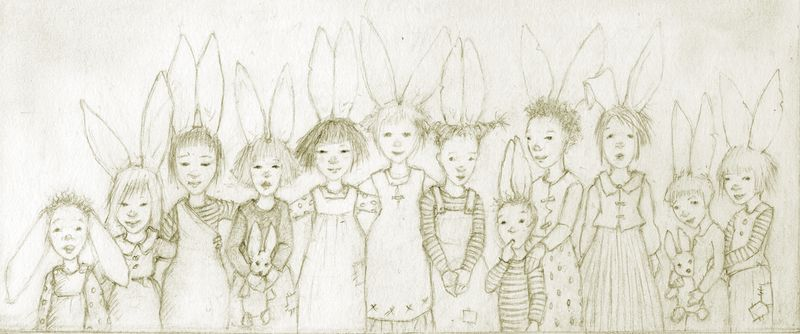 Bunny Family Portrait