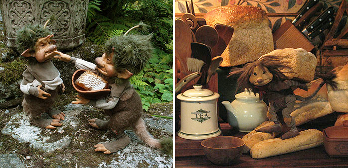 Honeycomb and Bread by Wendy Froud