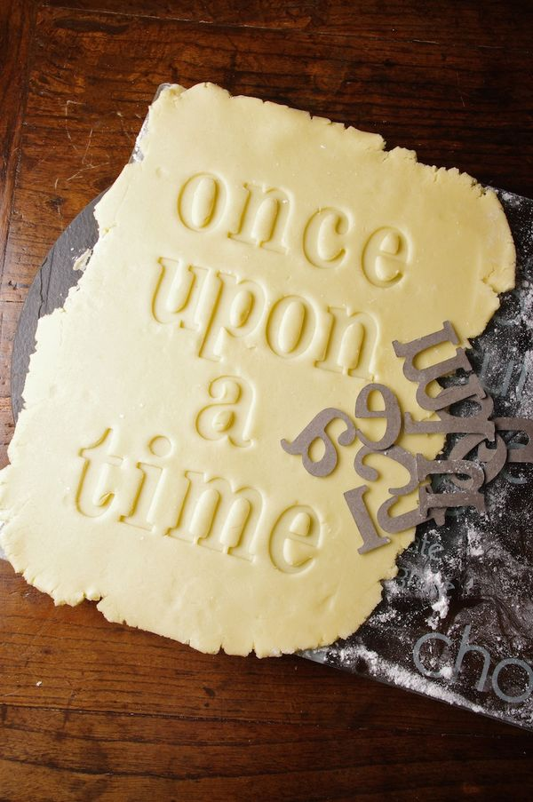 Once Upon a Time apple pie crust from the Food in Literature blog