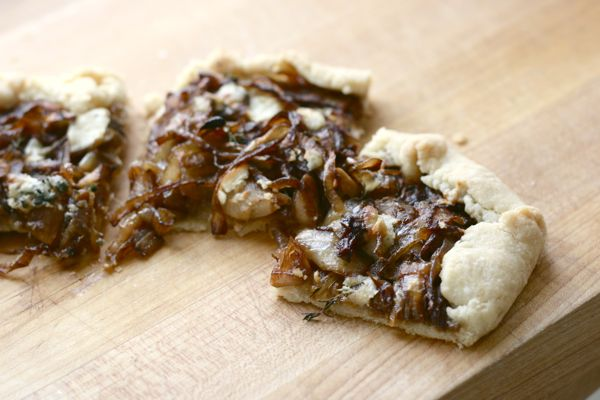 An Onion Tart inspired by a Pablo Neruda poem from the Eat This Poem blog
