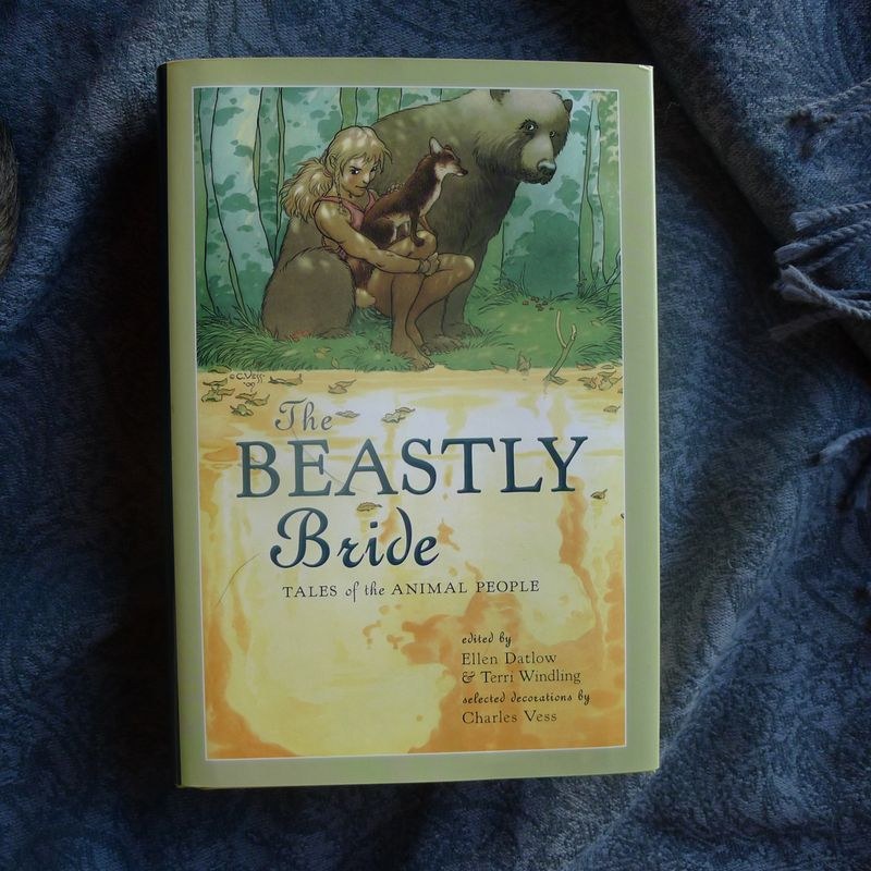 Beastly Bride cover art by Charles Vess