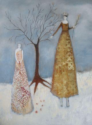 Six Seeds by Jeanie Tomanek
