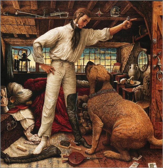 Hans Christian Andersen's The Tinder Box illustrated by Vladislav Erko