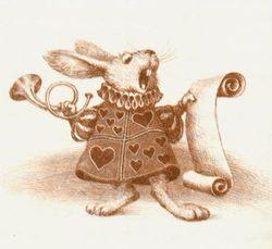 Alice in Wonderland illustrated vy Vladislav Erko