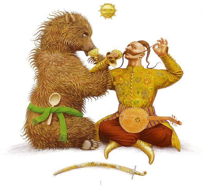 Russian Fairy Tales illustrated by Vladislav Erko