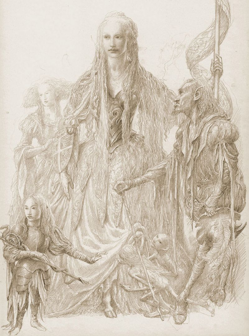 Fairy Queen by Alan Lee