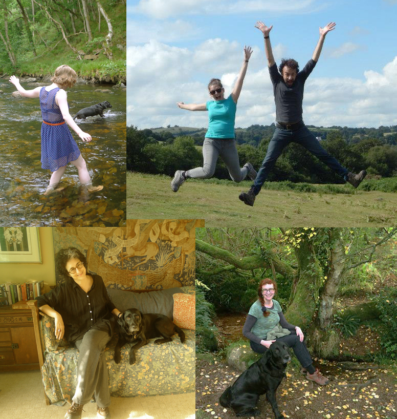 Beautiful me with my Pack-Sister Victoria and my friends Rachel & Owen, and Ellen & Delia.