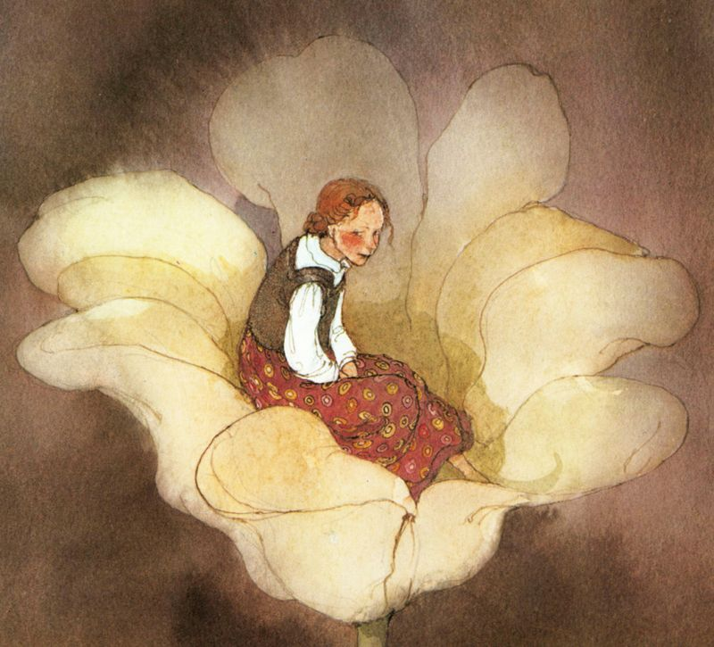 Thumbelina by Lisbeth Zwerger