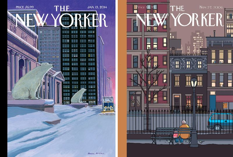 The New Yorker, 2014 & 2006
