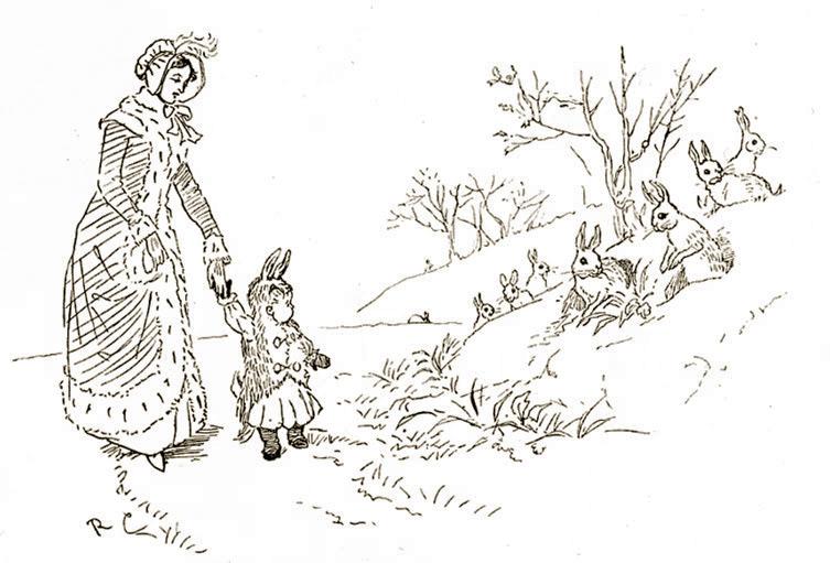''Baby Bunting'' illustration, artist unknown