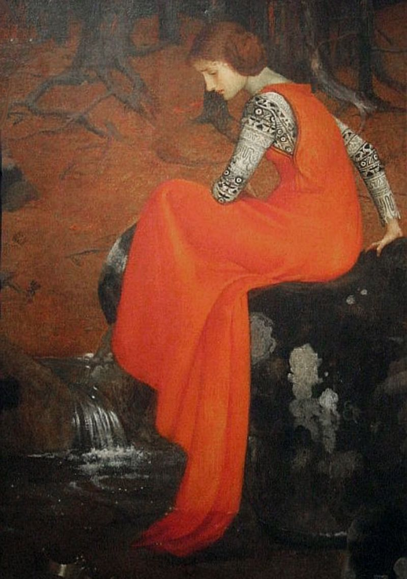 Melisande by Marianne Stokes