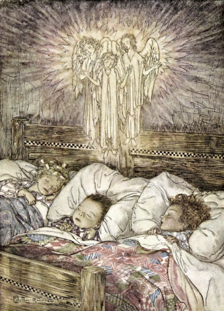 The Night Before Christmas by Arthur Rackham