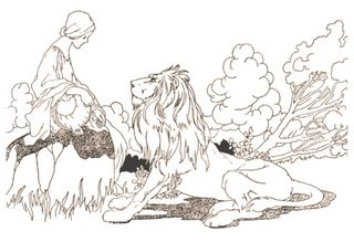 The Lion in Love by Charles Robinson