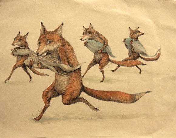 Fox Thieves by Ericilcane