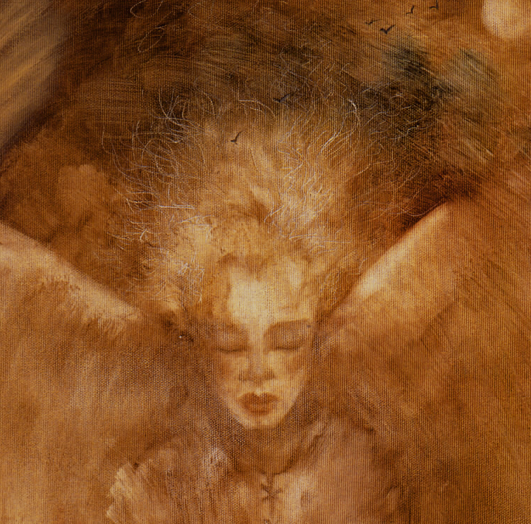 A detail from ''The Angel of Childhood'' by Terri Windling