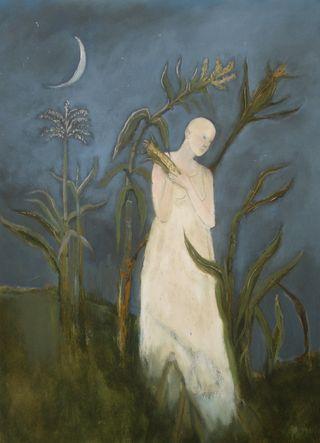 Green Corn Moon by Jeanie Tomanek