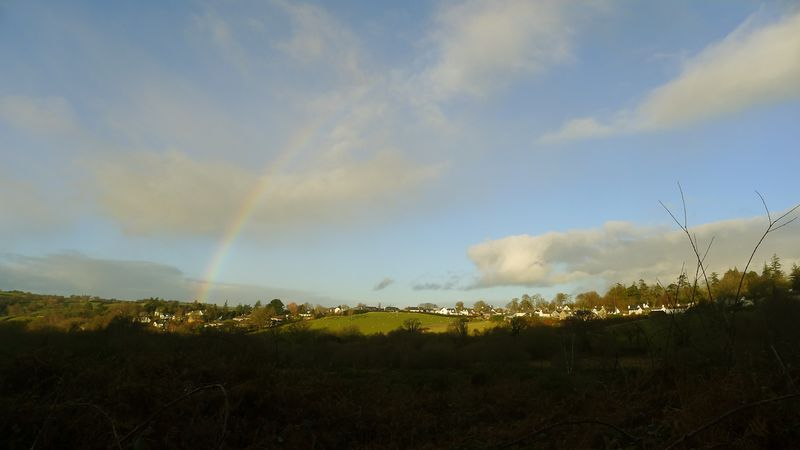 Rainbow over Chagford