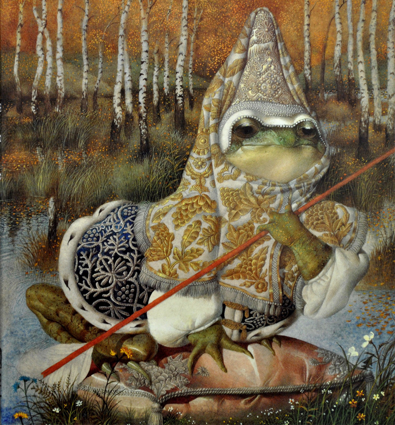The Frog Princess by Gennady Spirin